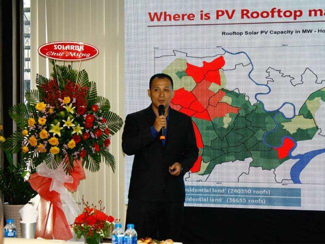 Ông Nguyễn Vũ Nguyên - Đại diện SolarGATES