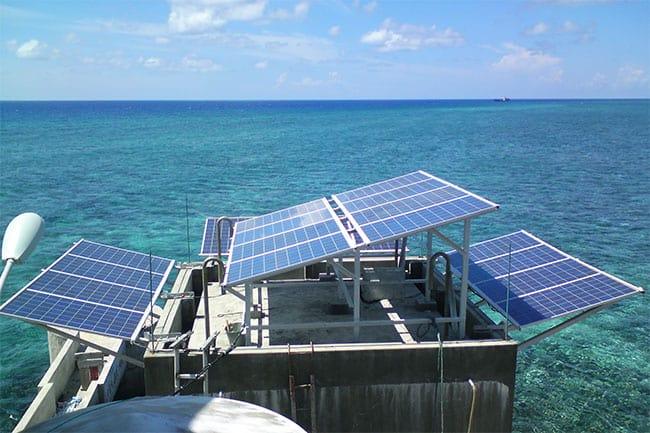 Dự án điện mặt tời đảo Trường Sa