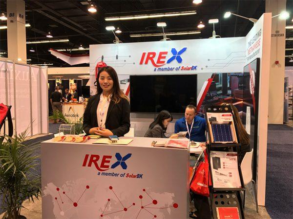 pin năng lượng mặt trời việt nam irex tại SPI 2018