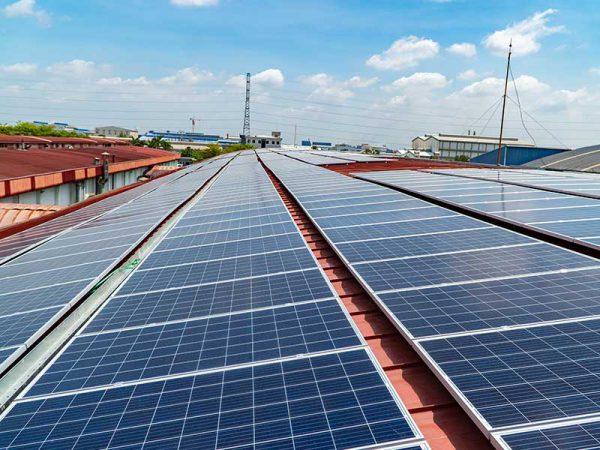 Hệ thống điện mặt trời tại Nhà máy Tonghong