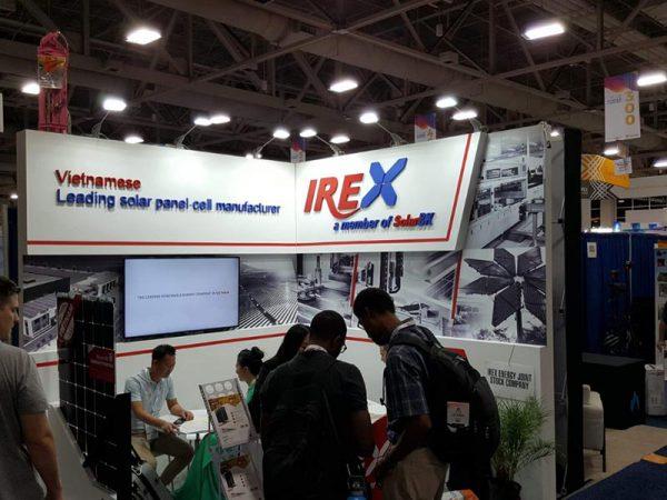 IREX tham gia triển lãm Quốc tế Năng lượng sạch lớn nhất khu vực Bắc Mỹ (SPI)